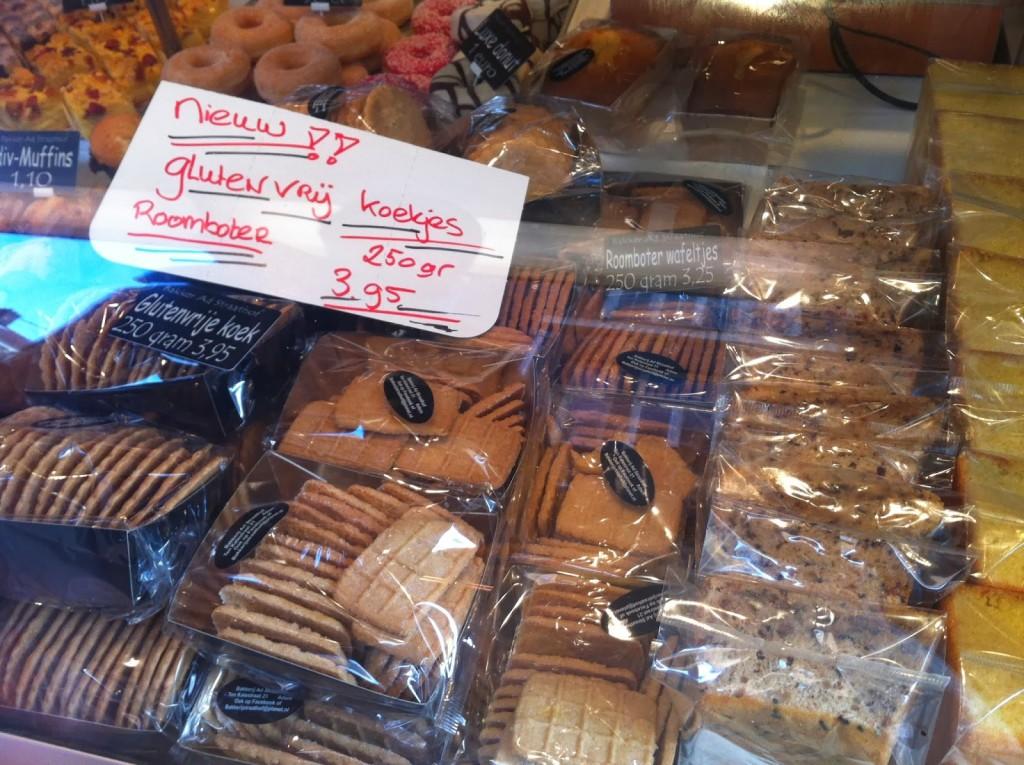 Gluten free bread and cookies bakery ad straathof for Bakkerij amsterdam west