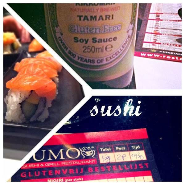 sumo menukaart
