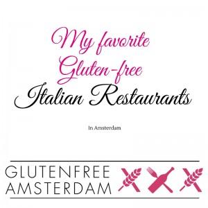 Gluten-free italian restaurants