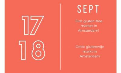 glutenvrije markt in Amsterdam