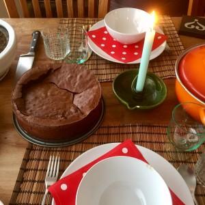 glutenvrije chocoladetaart