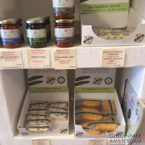 Italiaanse glutenvrije producten
