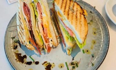 Glutenvrije clubsandwich